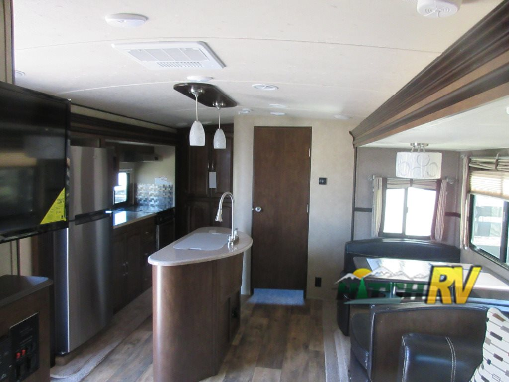 Wildwood Heritage Glen Travel Trailer Interior