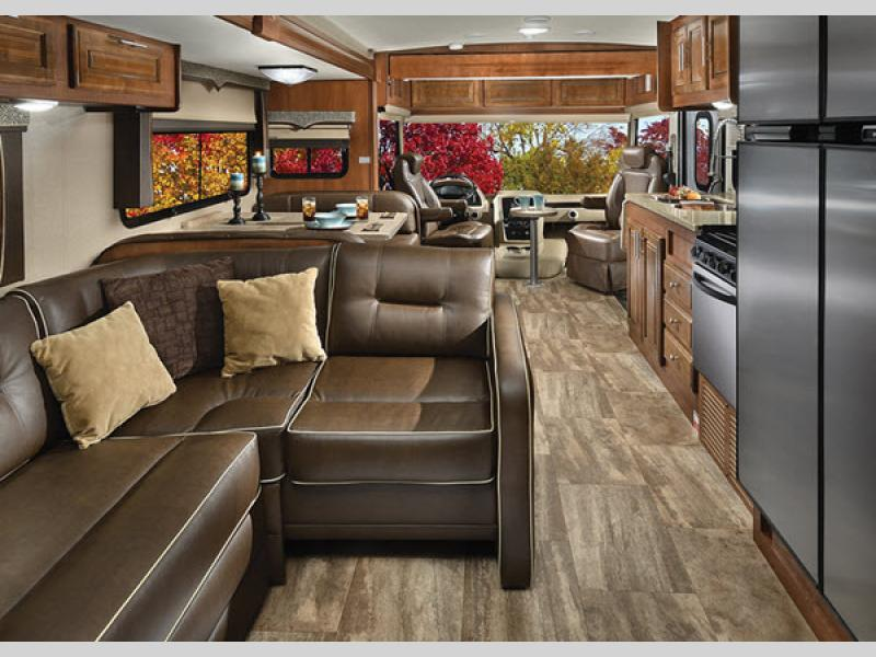 Series 5 Georgetown Motorhome Interior Shot