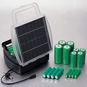 Solar-Powered-Battery-Charger