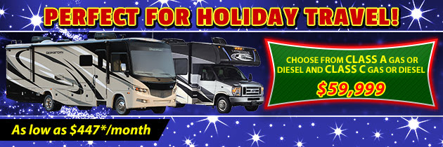 Class A and C motor homes