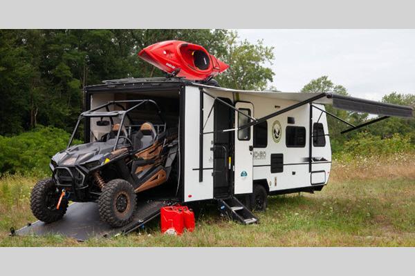 No Boundaries Toy Hauler Travel Trailer with Garage