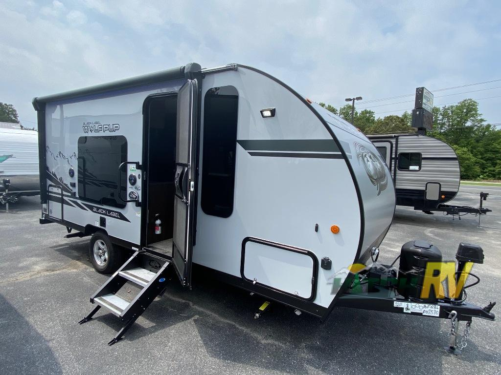 Wolf Pup Black Label Travel Trailer Exterior