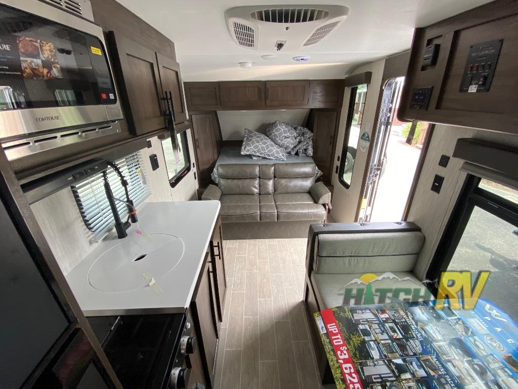 Wolf Pup Black Label Travel Trailer Interior