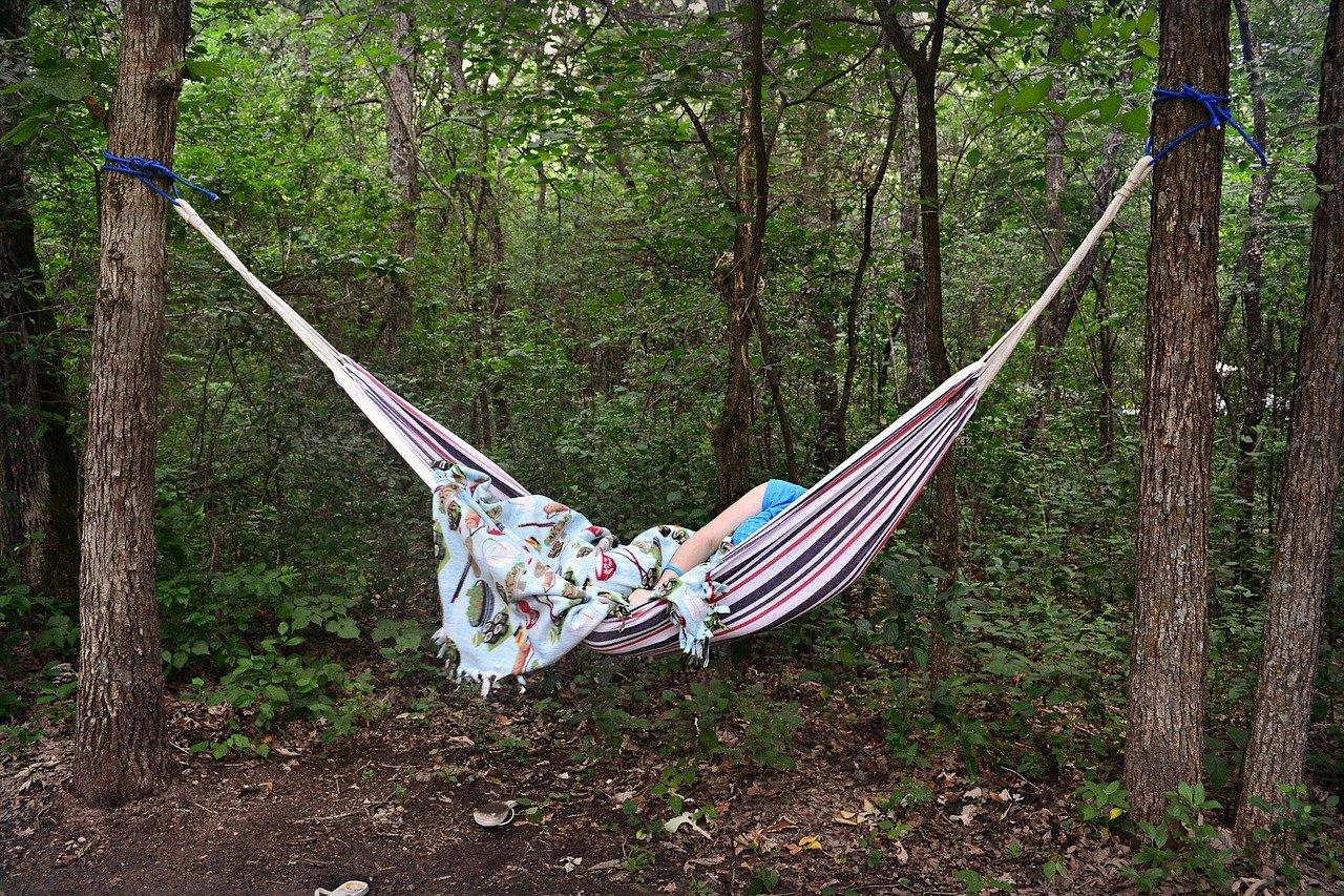 hammock sleeping